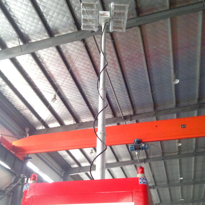4.5米照明灯装置 皮卡车顶照明 气动桅杆