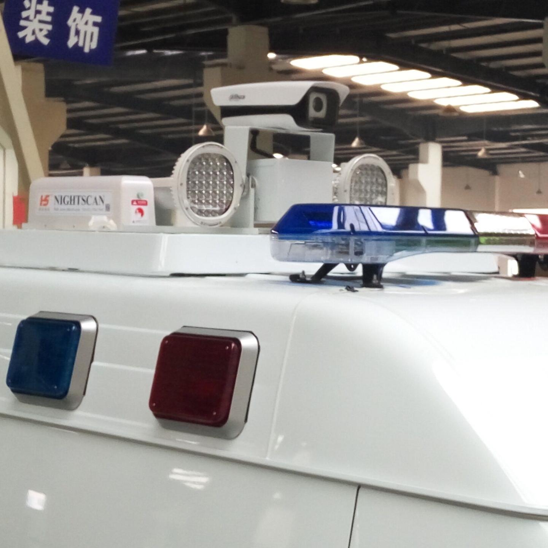 6kw泛光灯 车用升降照明灯 车顶视频监控