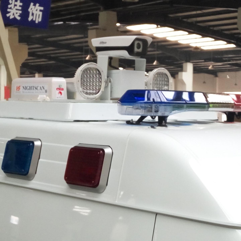 3.5米照明装置 增高型升降灯 车顶视频监控