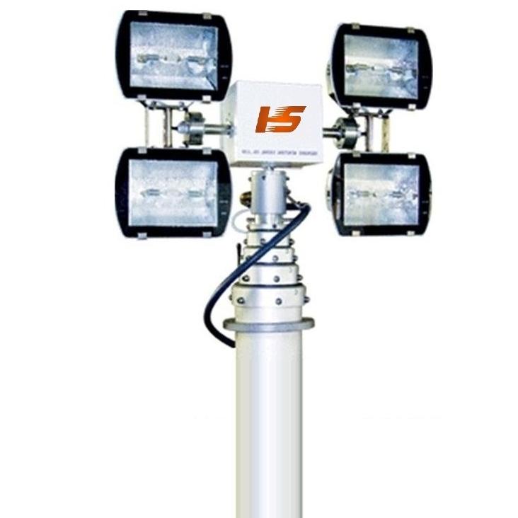河圣牌 气动式升降灯 车载移动照明灯