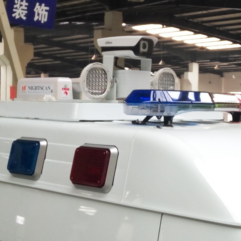 车顶升降探照设备 移动升降照明设备 河圣牌