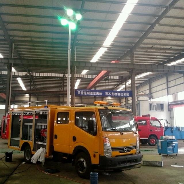 河圣安全 车载式照明灯装置 移动照明设备