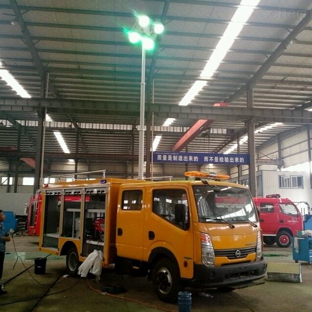 车载照明灯升降杆 车载升降照明设备 12V
