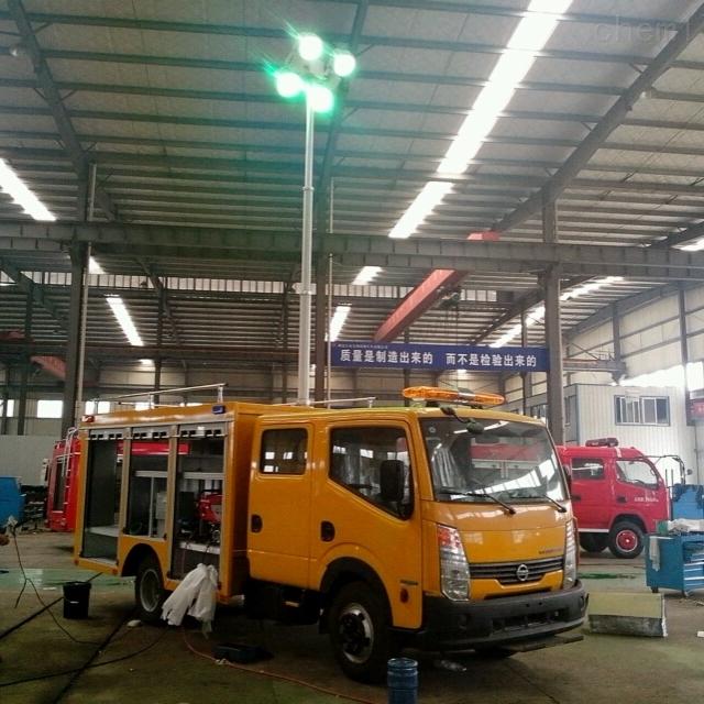 上海河圣 消防车升降照明灯 1000W照明