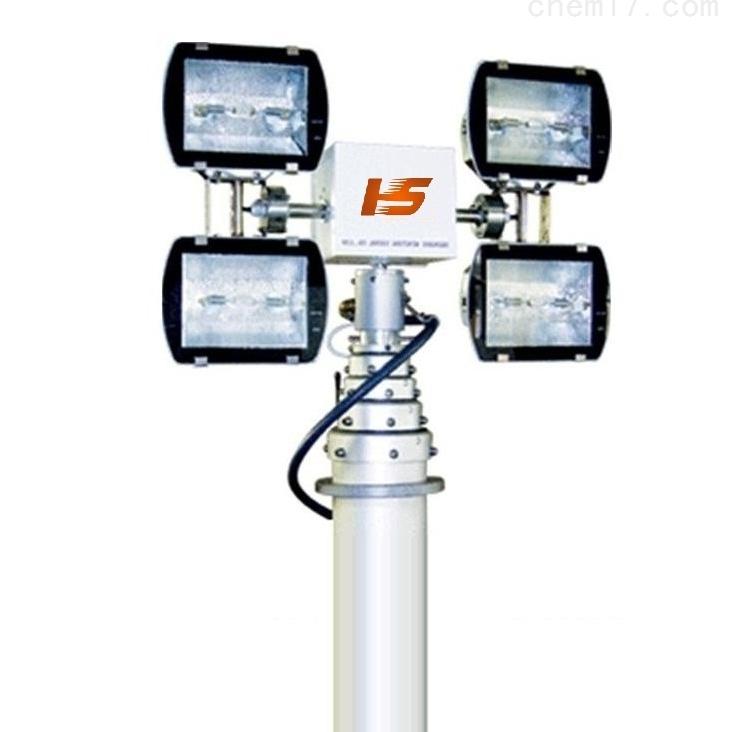 河圣安全 指挥车升降照明灯 8灯头探照灯