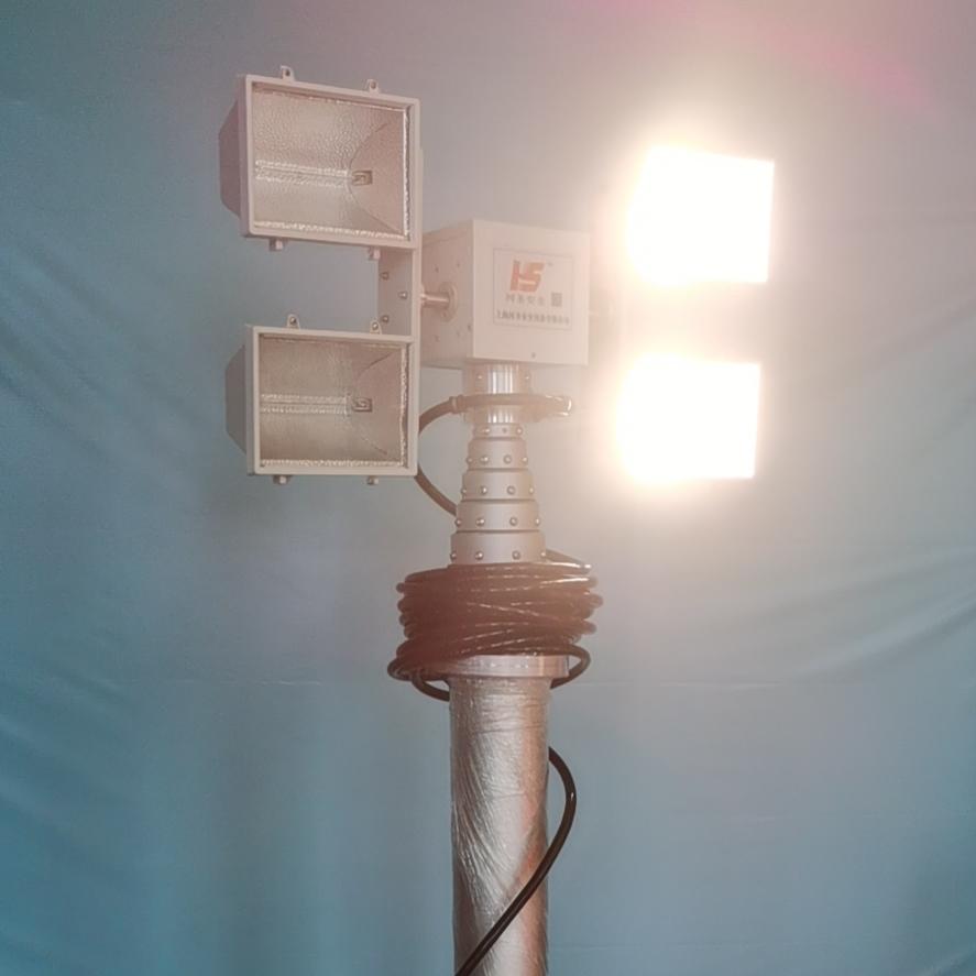 河圣牌应急升降设备 上海曲臂式升降照明装