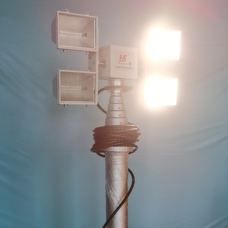 河圣牌 救援车升降照明灯 应急升降灯