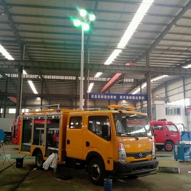 车载移动照明1.8米倒伏式车顶升降照明灯