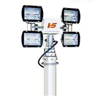 应急指挥车系统车载升降支架 车顶500W照明