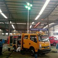 河圣安全 气压式车载照明设备 8000W照明