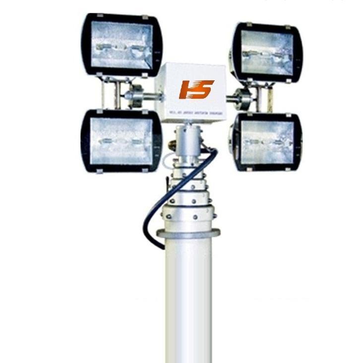 车载录像升降杆-移动升降灯-*