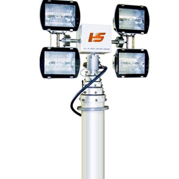 车顶升降照明系统 移动升降探照设备平台