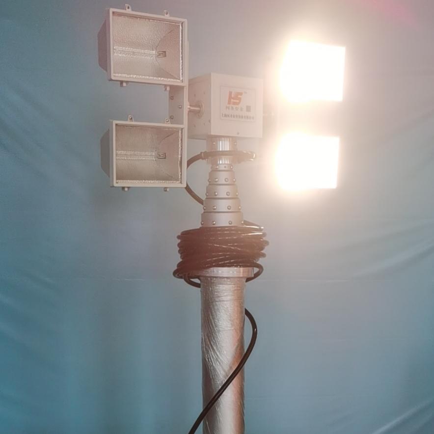 应急升降探照灯、应急照明设备、上海黑盾