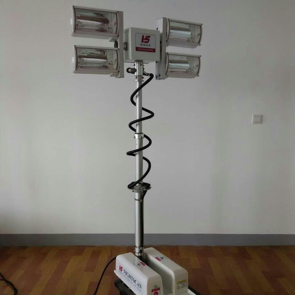 河圣牌 气动升降杆照明装置 4000W照明灯