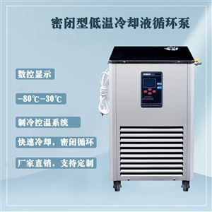 密閉型低溫冷卻液循環泵