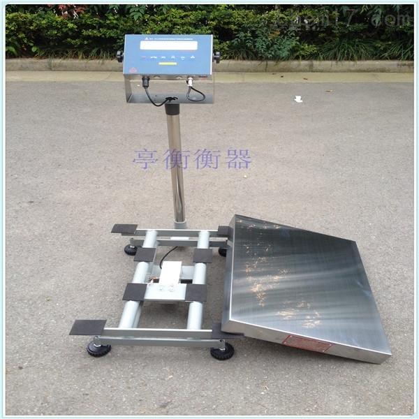 防爆等级CT4 CT5 BT6,150kg防爆电子台秤
