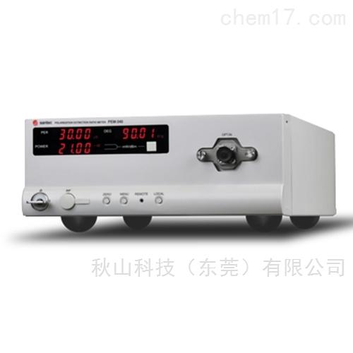 日本santec 50 dB兼容的偏振消光比监控器