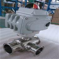 Q984F/Q985F電動衛生級三通球閥