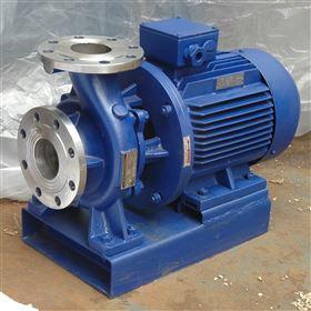ISWH不锈钢卧式离心泵不锈钢卧式管道离心泵