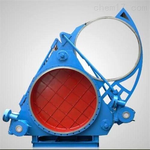 涡轮式盲板阀