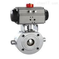 BQ671F气动超短型保温球阀
