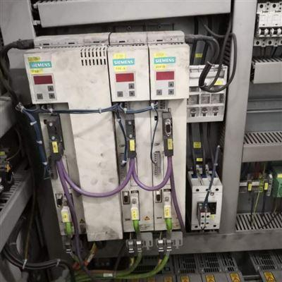 西门子6SE70伺服驱动器显示E修复及诊断