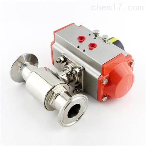 气动快装式卫生级球阀Q681F