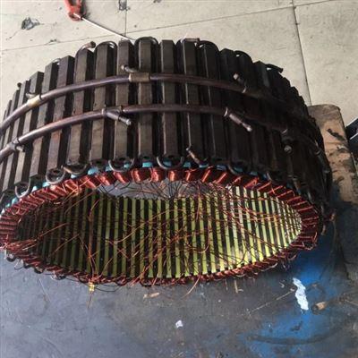 八年技术修复西门子扭矩电机线圈烧坏接地