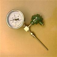上海仪表三厂热电阻偶远传双金属温度计