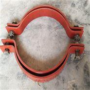 化工管道A5基准型双螺栓管夹