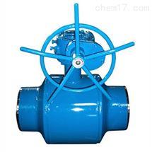 涡轮全焊接球阀
