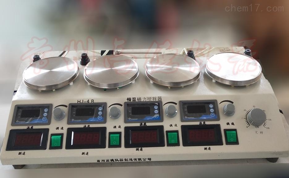 双数显四联磁力搅拌器