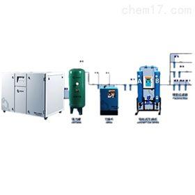 QWJ-2400静音无油空压机厂 实验室集中供气系统