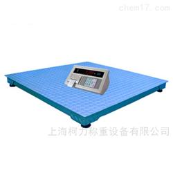 KL柯力SCS-3T嘉定3吨电子平台秤 带钢制斜坡地磅打印磅单