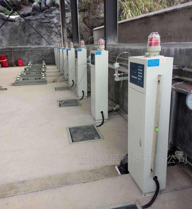 自动充气电子秤 液化气自动灌装秤150kg