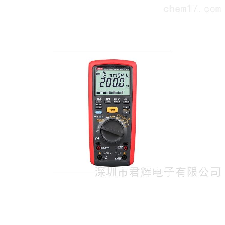 UT505B手持式绝缘电阻测试仪