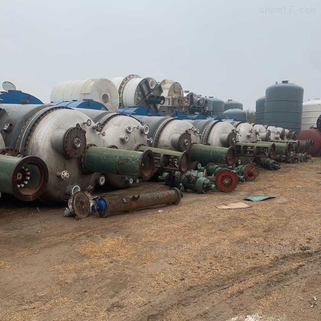 长期回收化工厂手反应釜不锈钢搪瓷