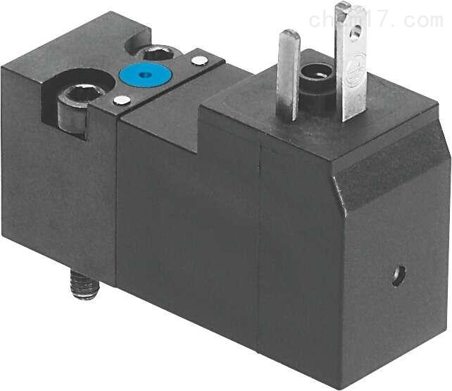 Festo电磁阀 带中心插头