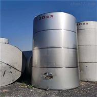 KF-3000二手不锈钢储罐 卧式立式 大小订做