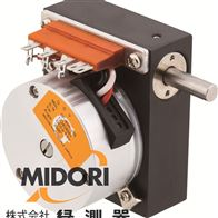 CP-45H-10S系列日本绿测器MIDORI多圈型电位器传感器