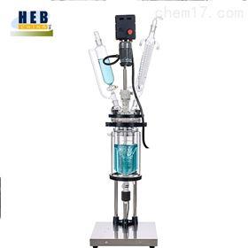 防爆5L双层玻璃反应釜(器)EXHEB-5L