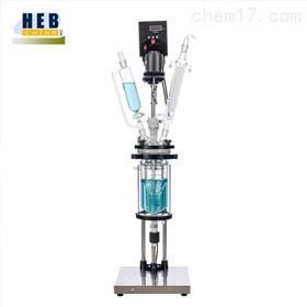 5L双层玻璃反应釜(器)HEB-5L