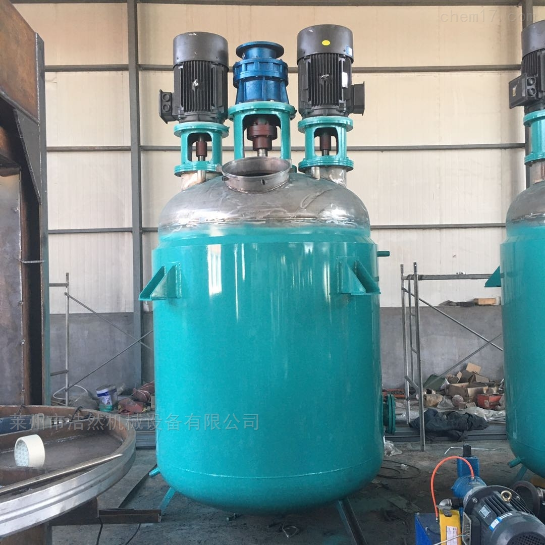 树脂生产设备反应釜