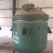 二手3立方搪瓷反应釜供应