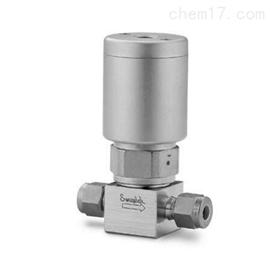 6LVV-DPS4-Cswagelok超高纯气动隔膜阀