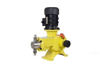 DK1.6柱塞式高压絮泥剂阻垢剂机械隔膜加药计量泵