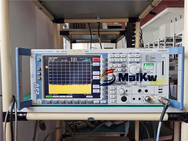 江苏苏州R&S测量接收机ESU 40G维修案例