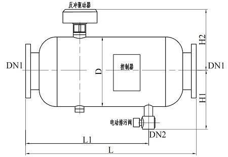 反冲洗过滤器结构图