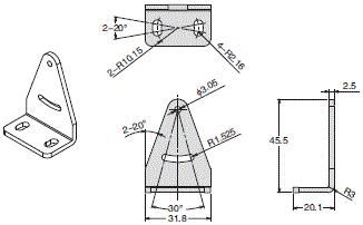 E3Z-F 外形尺寸 7
