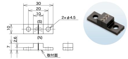 """磁化对象""""MG-4861A"""